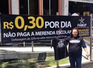 Prefeita Fátima Silva presente em mobilização na Capital João Pessoa